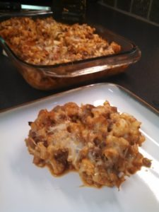 cauliflower pasta bake