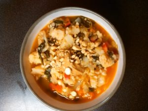 Low-carb African peanut soup