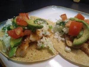 fish tacos with cilantro lime slaw